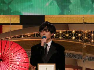 King & Prince永瀬廉「弱虫ペダル」で新人俳優賞受賞「エンターテインメントという厳しい坂をこれからも登り続けていきたい」<第44回日本アカデミー賞>