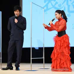 田中圭が手を握って「まるで子どもを説得するように話を聞いてくださった」と語る土屋太鳳(C)モデルプレス