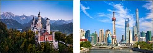 ドイツ、上海/画像提供:AAE Japan