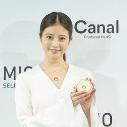 「カナル・プロデュースドバイ4℃」、今田美桜とコラボした限定ジュエリーを発売