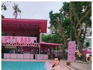 平野ノラ、白肌美ボディ際立つ水着ショット公開「羨ましいスタイル」「美しい」と反響