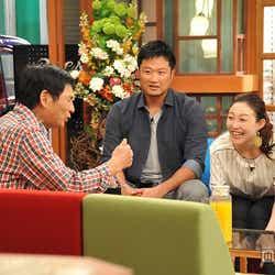 明石家さんまの「さんまのまんま」に出演(C)関西テレビ