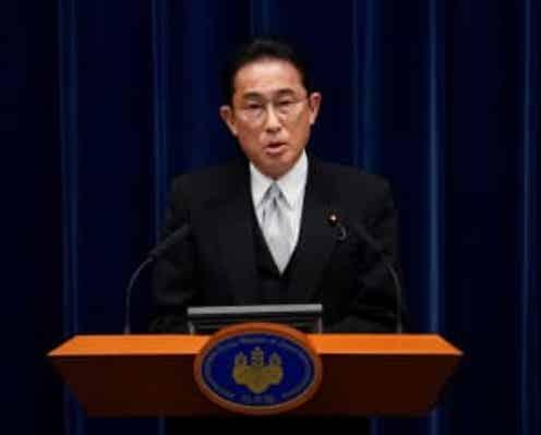 東シナ海での日本の主権を侵害する行為が継続している=岸田首相