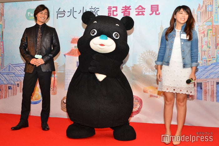 加藤和樹、熊讚Bravo(ブラボー)、台北市政府観光伝播局の陳思宇(C)モデルプレス