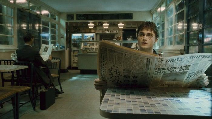 「ハリー・ポッターと謎のプリンス」TM & (c) 2009 Warner Bros. Ent. , Harry Potter Publishing Rights (c) J.K.R.<br>