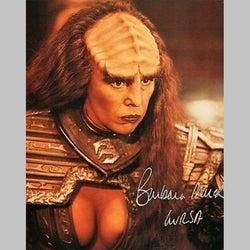 『スター・トレック』デュラス姉妹のラーサ役バーバラ・マーチが65歳で死去
