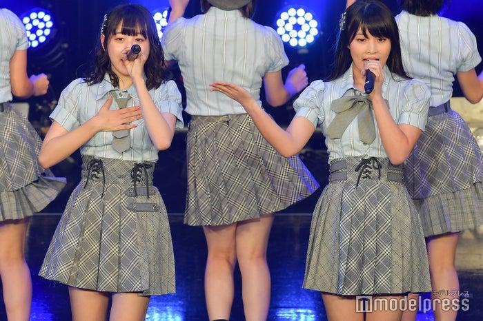 横山結衣、岡部麟/AKB48チーム8「TOKYO IDOL FESTIVAL 2018」 (C)モデルプレス