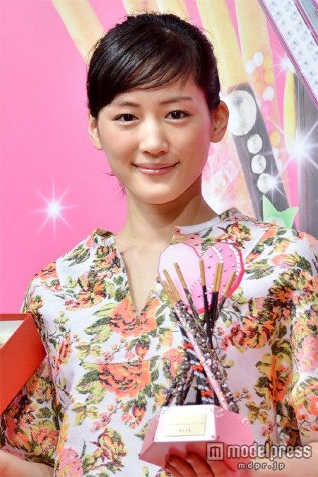 さんま「ラブメイト10 2013」で2位となった綾瀬はるか