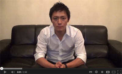 「嵐を呼ぶあぶない熟女」(TBS系)に出演した内山麿我/YouTubeより