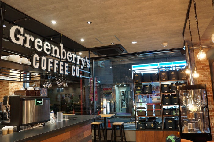 Greenberry's COFFEE Roastery CO./画像提供:K&BROTHERS