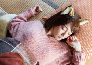 吉岡里帆、無防備な寝顔にキュン 人気キャラが写真集に
