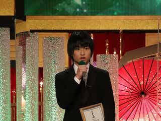 奥平大兼、俳優デビュー作で新人俳優賞 長澤まさみに感謝も<第44回日本アカデミー賞>