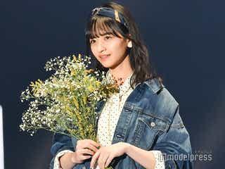 乃木坂46金川紗耶、緊張の初ランウェイでキュートな微笑み<TGC2020 S/S>