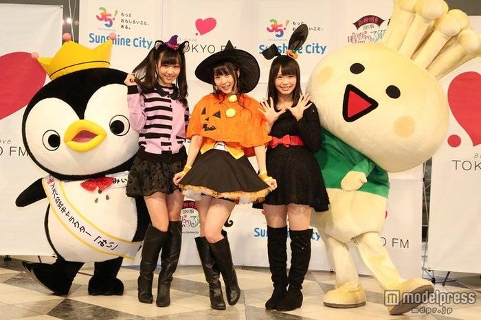 「SKE48高柳明音の暗黙の了解」の公開収録を行った(左から)SKE48須田亜香里、高柳明音、松村香織
