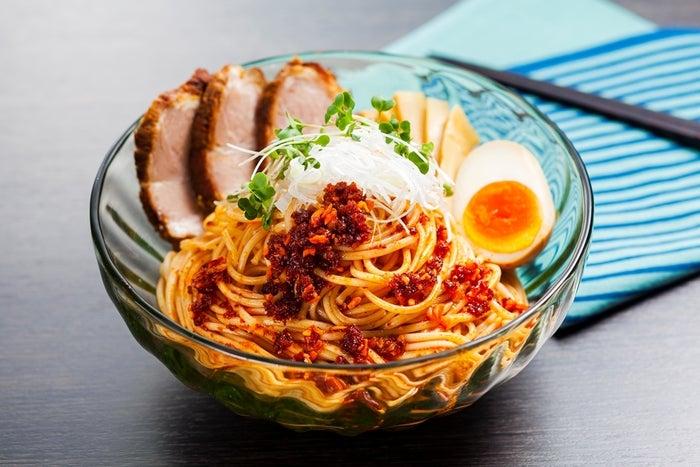 オリーブオイル de あえ麺/画像提供:日本アクセス