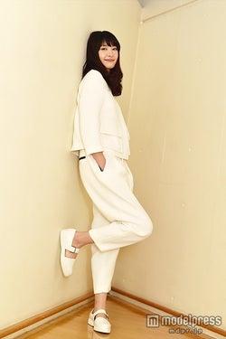 モデルプレスのインタビューに応じた新垣結衣