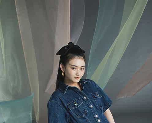 櫻坂46山崎天、ViVi専属加入サプライズ発表日の記念撮影で覚悟 堂々ポージングも