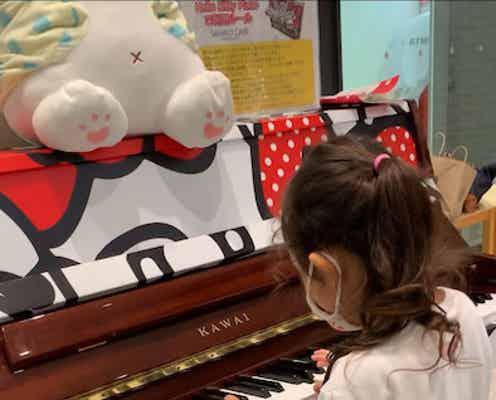 チャンカワイ、長女がカフェのピアノで即興演奏「パパは幸せでした」