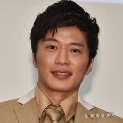 子役の白鳥玉季に撮影現場での秘話を明かされた田中圭(C)モデルプレス