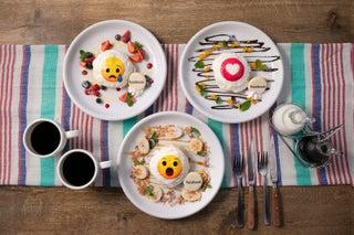 日本初「Facebook Cafe」原宿に限定オープン、パンケーキに『リアクション』をデザイン