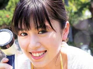 旭化成キャンペーンモデル・北向珠夕、逸材BODY披露で美バストちらり 爽やか笑顔で魅せる