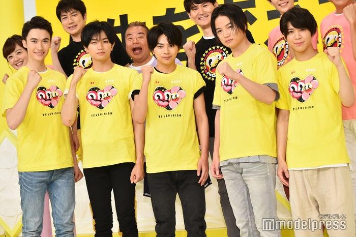 Sexy Zone(左から)マリウス葉、中島健人、佐藤勝利、菊池風磨、松島聡(C)モデルプレス
