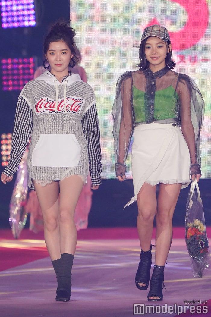 (左から)山本月、稲垣莉生(C)モデルプレス