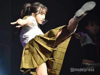 AKB48小栗有以、華麗な回し蹴り再び 行天優莉奈がSEXYな先生に<マジムリ学園蕾-RAI->