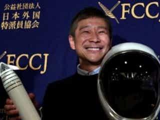ZOZO創業者の前澤友作氏、月旅行の同行者8人を募集