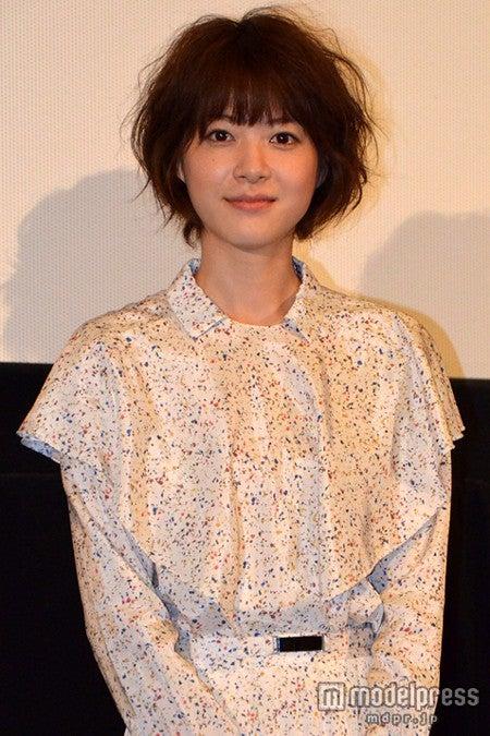 映画「陽だまりの彼女」の大ヒット御礼舞台挨拶に出席した上野樹里