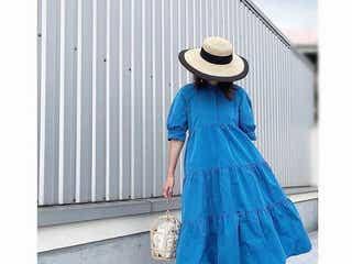 夏コーデは「ワンピース」で暑さをカット!カラー・素材別に見る涼しげな着こなし