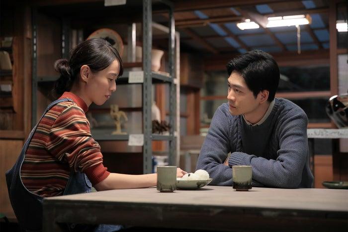 戸田恵梨香、松下洸平/「スカーレット」(C)NHK