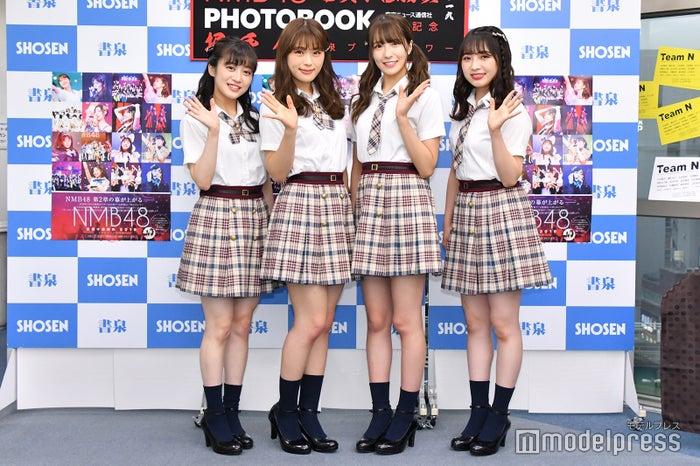 川上千尋、渋谷凪咲、小嶋花梨、東由樹(C)モデルプレス