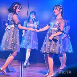 田口愛佳と宮崎美穂の新旧狂犬キャラ/AKB48岡部チームA「目撃者」公演(C)モデルプレス
