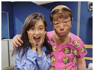 """小島瑠璃子、志村けんさん""""最後の変なおじさん""""姿公開「一緒にお仕事が出来てほんっとに幸せでした」"""