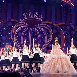 (中央)松村沙友理「さ~ゆ~Ready? 松村沙友理卒業コンサート~」(提供写真)