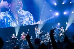 BEGIN/「WE ◆ NAMIE HANABI SHOW」前夜祭より(提供写真)