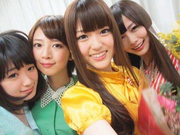 (左から)高山一実、橋本奈々未さん、松村沙友理、白石麻衣(撮影/松村沙友理)