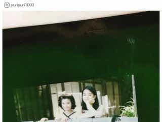 """石田ゆり子&ひかり姉妹、""""約20年前""""美人2ショット公開で「お宝」「良い写真」と反響続々"""