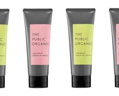 精油が香る「ザ パブリック オーガニック」の新ヘアマスクで、気分をリフレッシュ!