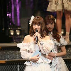 モデルプレス - 高城亜樹、最速昇格&JKT48移籍…波乱のAKB48人生 涙の卒業コンサート<メッセージ全文>