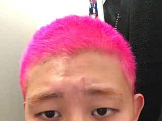 """""""Fukaseになりたくて""""ピンク坊主頭に変貌した四千頭身・後藤に本人仰天「ノリがすごいです」"""