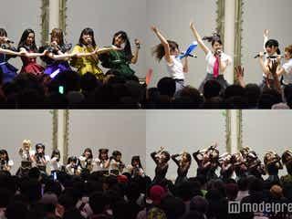 マジパン・ハイモチら、注目のアイドル30組以上集結 野外ステージで圧巻ライブ