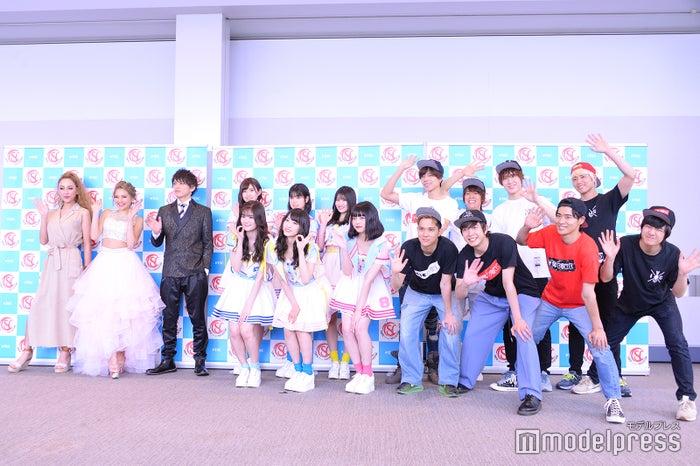 GENKING、ゆきぽよ、山本裕典、AKB48チーム8、BOYS AND MEN (C)モデルプレス