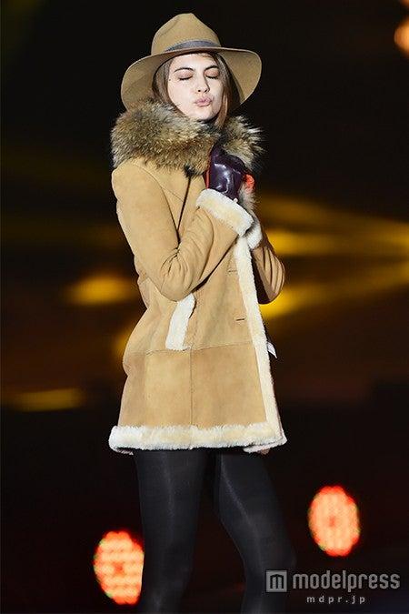 「GirlsAward 2015 A/W」に出演したマギー【モデルプレス】