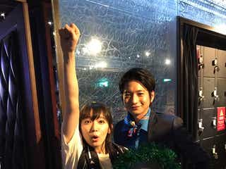 吉岡里帆&向井理、仲良しオフショット公開「きみ棲み」以来の共演で「妙にドギマギ緊張しました」<時効警察はじめました>