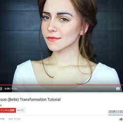 """モデルプレス - """"海外版ざわちん"""" メイクで「美女と野獣」エマ・ワトソンに変身する超絶テクにネット騒然"""