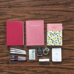 手帳好きがおすすめする手帳と文房具10選