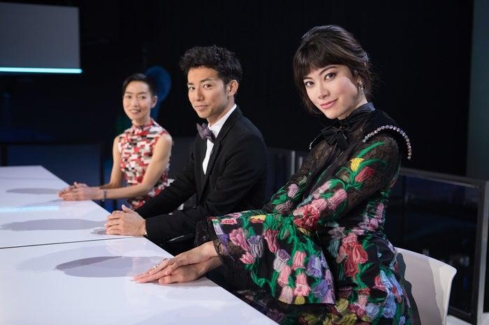 綾部祐二&森星が「ファイナル・テーブル」に出演(提供写真)