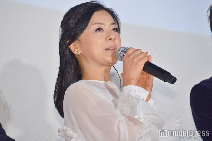 薬師丸ひろ子/映画舞台挨拶時撮影 (C)モデルプレス